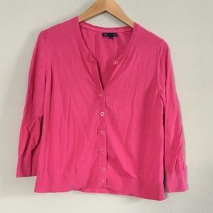✨3/$15✨ Gap Hot Pink Cardigan